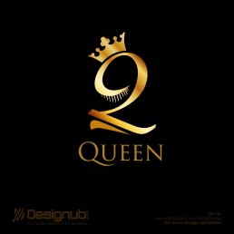 Beauty Queen Logo Design Template Designub