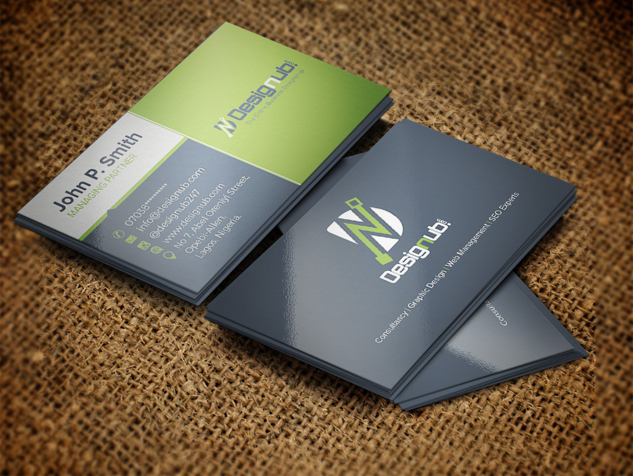 Professional business card design template designub an incredibly innovative and professional looking business card friedricerecipe Image collections
