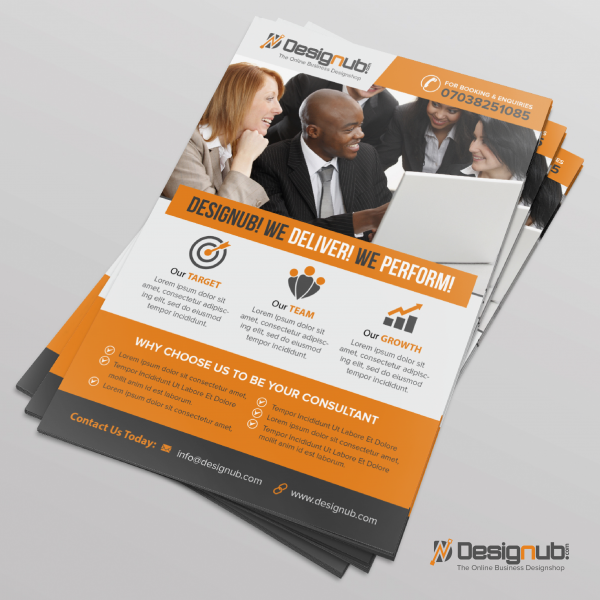 Business Flyer Design Template