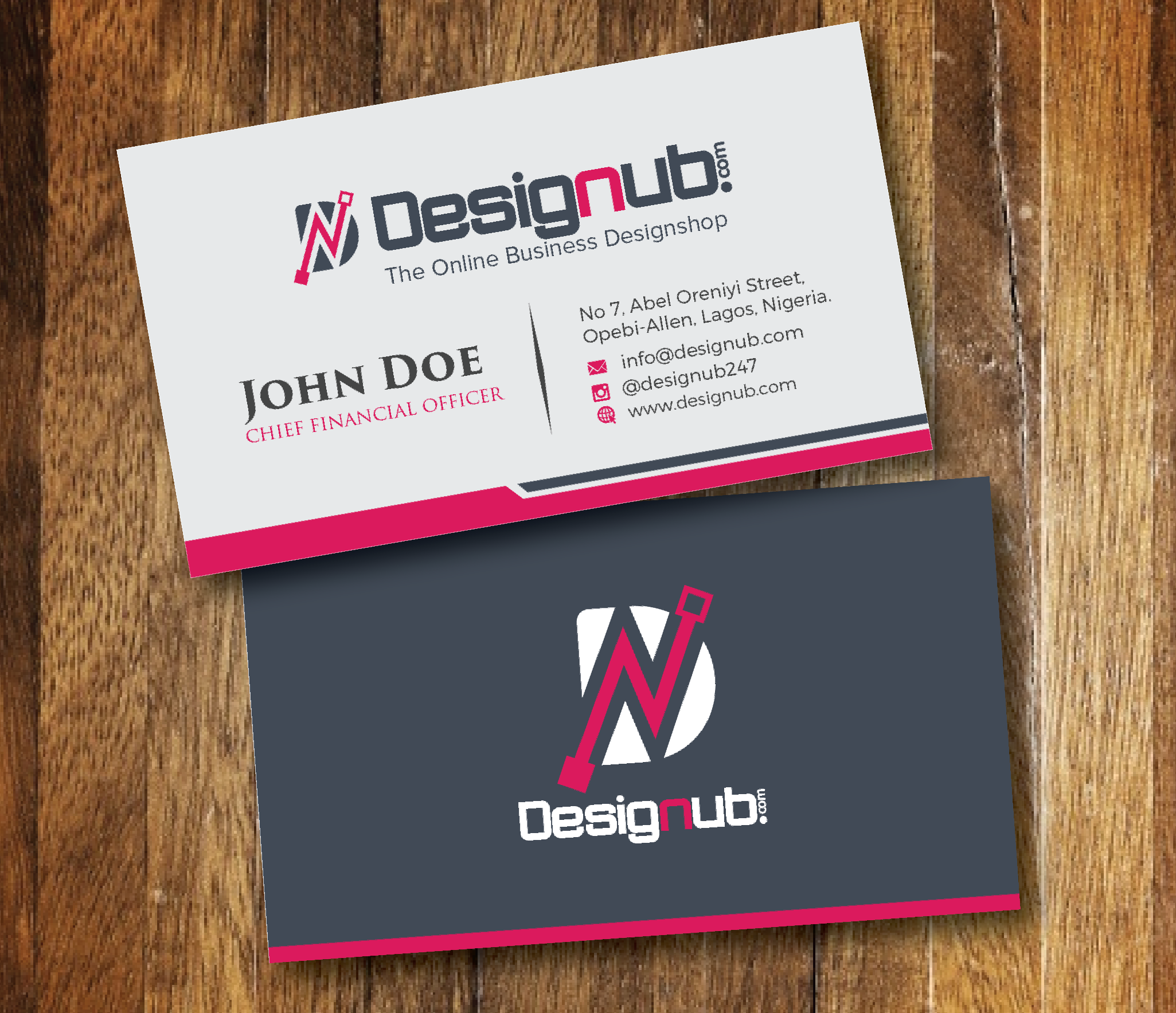 A generic business card design template designub an incredibly innovative and professional looking business card accmission Gallery