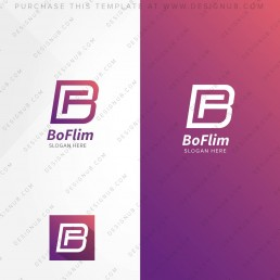 BF Logo Design Template